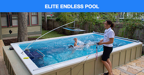 Endless Pools Indoor Outdoor Pools Adjustable Swim Current