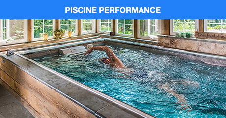 Endless pools petites machines de nage piscines de nage for Endless pool in basement